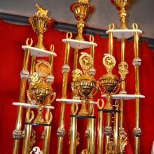 Trofeos de excelentísima calidad listos para el 4° Mundial de CHDK!!