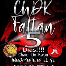 FALTAN 5 DIAS!!!